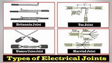 electrical joints types of electrical joints proper joint of electric wire youtube