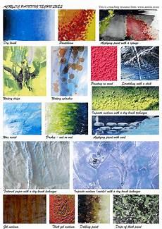 acrylic painting techniques art teacher resources