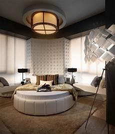 chambre a coucher avec lit rond id 233 e chambre adulte luxe 29 photos de meubles et d 233 co