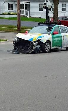 voiture view crash une voiture view au tas