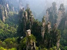 zhangjiajie national forest park national park in hunan