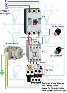 Industrial Compressor 3 Phase Wiring Diagram by Stop Start Wiring Diagram For Air Compressor With