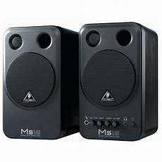 behringer monitor speakers ms16 pair