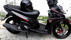 Modifikasi Motor Mio M3 by Yamaha Mio M3 Di Modifikasi Sederhana