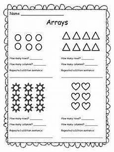 arrays worksheet free by the clever teacher teachers pay teachers