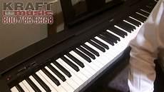 yamaha digital piano p 45 transpose kraft yamaha p45 digital piano namm 2015