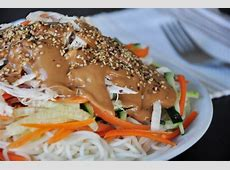shanghai cold noodles with peanut butter sauce_image