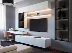 living room on behance in 2019 living room tv unit desk