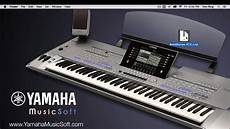 yamaha musicsoft vse tutorial for the psr s 70 series of
