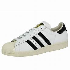 baskets basses cuir superstar 80s blanc adidas originals