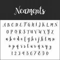 brush fonts free font neaments pinselschrift