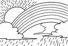 Malvorlagen Regenbogen Name Regenbogen Ausmalbilder Ausmalbilder Bilder Zum Malen