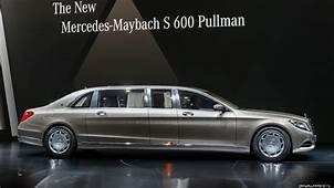 Wallpaper Mercedes Maybach S600 Pullman Sedan Grey