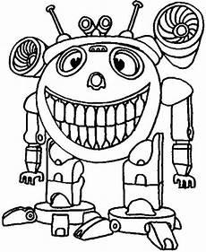 Ausmalbilder Coole Roboter Ausmalbilder Kostenlos Roboter 6 Ausmalbilder Kostenlos