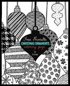 ornaments coloring page u create