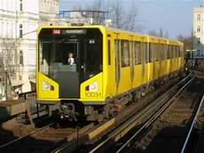 U Bahn Berlin Fahrzeuge Rolling Stock 2009