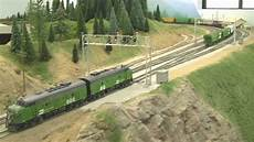 Ho Scale Layout awesome ho scale bn model layout in hd 2 21 2009