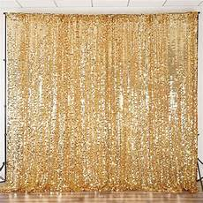 3x5ft Gold Sequin Glamorous Photography Backdrop by 20ft Gold Big Payette Sequin Curtain Panel Backdrop