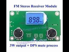 digital radio receiver test ebay dsp pll digital stereo fm radio module fm