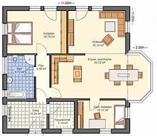 Grundriss Bungalow 3 Zimmer - bgx14 bungalow grundriss 104qm 3 zimmer grundriss