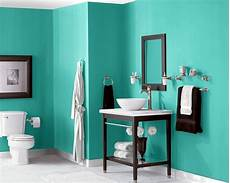 Aqua Bathroom Paint Ideas by Synergy Sw 6938 Crushes It In This Bathroom Paint