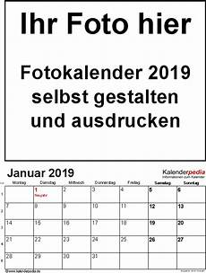 kalender 2019 gestalten kalender plan