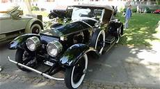 oldtimer rolls royce 1922 rolls royce silver ghost picadilly exterior and interior oldtimer meeting baden baden