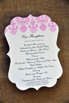 wedding programs decoration