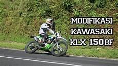 Modifikasi Klx Gordon by Review Modifikasi Kawasaki Klx 150bf G 2016