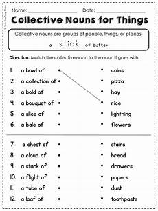 2nd grade language arts and grammar practice sheets freebie common core or not nouns