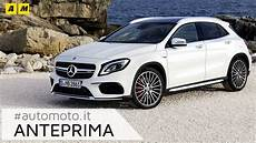 Mercedes Gla Restyling 2017 Amg Anteprima