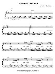 adele quot someone like you quot sheet music easy piano download print