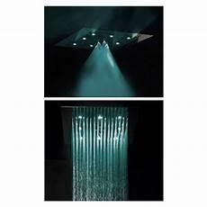 soffione led doccia bossini soffione doccia da soffitto con led a due getti