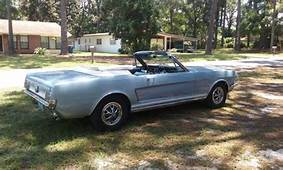 1966 FORD MUSTANG CONVERTIBLE 289 AUTO 1965 1967 1968 1969