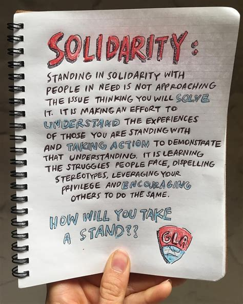 Solidarity Meaning