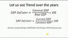 deflator and business cylce