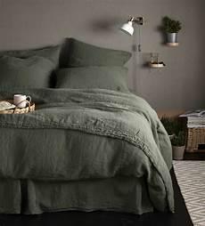 olive green 100 linen fitted sheet secret linen store
