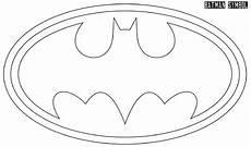 Batman Zeichen Malvorlagen Gratis Ausmalbilder Batman Logo Projekt Superhelden