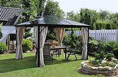 Alu Pavillon Mit Festem Dach - pavillon mit festem dach die top 3 pavillon kaufen