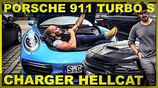 Porsche 911 Turbo S Charger Hellcat L Big Flying