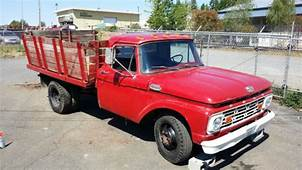 1964 Ford F350 Dually Dump Truck Or Flatbed With 390
