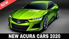 7 new acura cars presented in the upmarket model lineup of