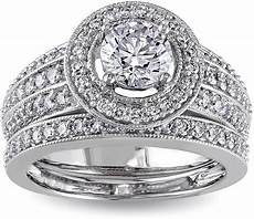 jcpenney modern 1 ct t w diamond 14k white gold