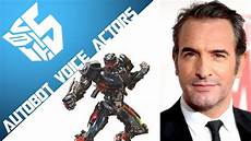 Transformers 5 Autobots And Their Voice Actors