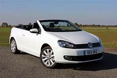 volkswagen golf cabriolet review 2011 2016 parkers