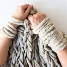Arm Knitting Comment Tricoter Avec Les Bras Tricot