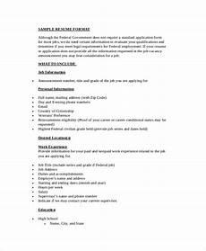 free 9 simple resume format in ms word pdf