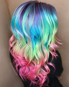 bright hair colors on pinterest bright hair rainbow hair and 28 cool rainbow hair color ideas trending for 2018