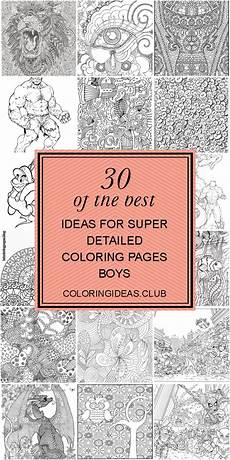Age Malvorlagen Terbaik 30 Of The Best Ideas For Detailed Coloring Pages