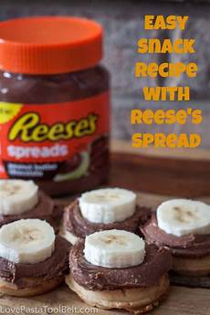 easy snack recipe with reese s spreads love pasta and a tool belt